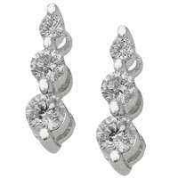 ladies earrings under £1000